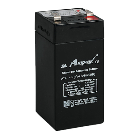 SMF Industrial Battery 4V4.5AH