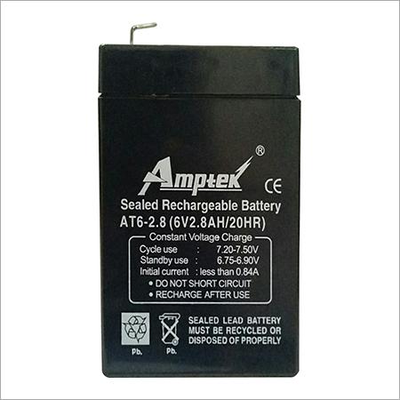 SMF Industrial Battery 6V2.8AH