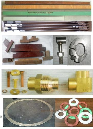 RANGE OF COIL & CRUCIBLE ACCESSORIES