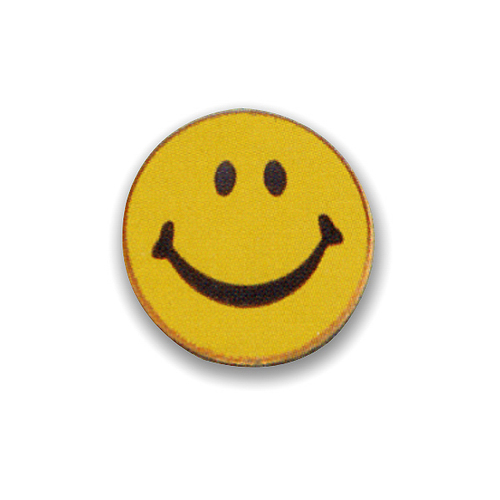 Smile Pin Badge