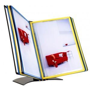 Deskstand with 5 folders