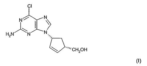 (1S,4R)-4-(2-Amino-6-chloro-9H-purin-9-yl)-2-cyclo
