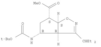 (1S,4R)-4-[[(1,1-Dimethylethoxy)carbonyl]amino]-2-