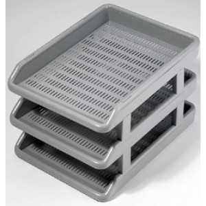 Omega Office Tray Deluxe set of 3