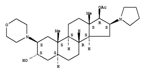 (2b,3a,5a,16b,17b)-17-Acetoxy-3-hydroxy-2-(4-morph