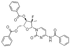 (2'R)-2'-Deoxy-2'-fluoro-2'-methyluridine 3',5'-di