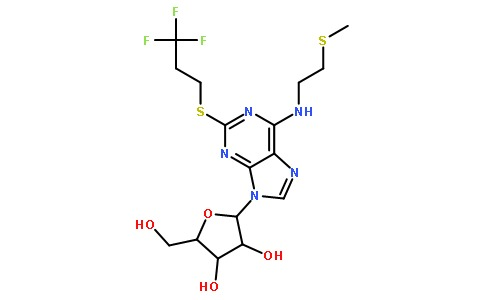 (2R,3S,4R,5R)-2-(hydroxyMethyl)-5-(6-((2-(Methylth