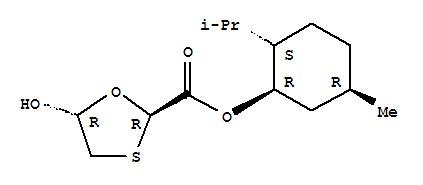 (2R,5R)-5-Hydroxy-1,3-oxathiolane-2-carboxylic aci