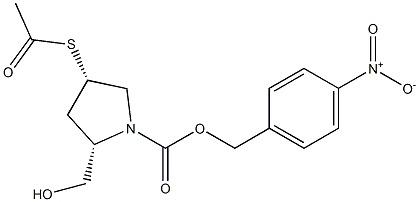 (2S,4S)-4-(Acetylthio)-2-(hydroxymethyl)-1-pyrroli