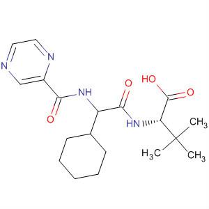 (2S)-2-Cyclohexyl-N-(2-pyrazinylcarbonyl)glycyl-3-