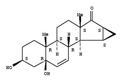 (3b,5b,15a,16a)-15,16-Dihydro-3,5-dihydroxy-3'H-cy