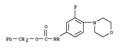 (3-Fluoro-4-morpholin-4-ylphenyl)carbamic acid ben