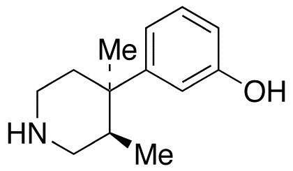 (3R,4R)-3,4-Dimethyl-4-(3-hydroxyphenyl)piperidine