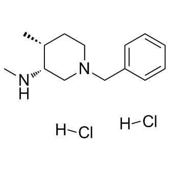 (3R,4R)-N,4-Dimethyl-1-(phenyl methyl)-3-piperidin
