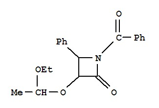 (3R,4S)-1-Benzoyl-3-(1-ethoxyethoxy)-4-phenyl-2-az