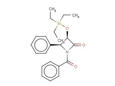 (3R,4S)-1-Benzoyl-4-phenyl-3-[(triethylsilyl)oxy]-