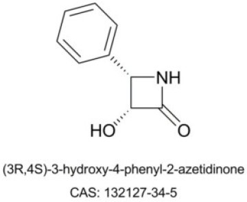 (3R,4S)-3-Hydroxy-4-phenyl-2-azetidinone