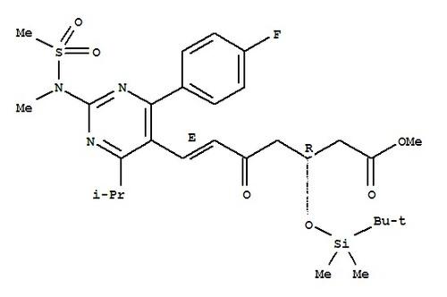 (3R,5S,6E)-7-[4-(4-fluorophenyl)-6-isopropyl-2-(N-