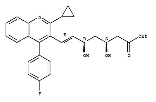 (3R,5S)-7-[2-Cyclopropyl-4-(4-fluorophenyl)-3-quin