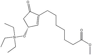 (3R)-5-Oxo-3-[(triethylsilyl)oxy]-1-cyclopentene-1