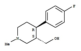 (3S,4R)-4-(4-Fluorophenyl)-3-hydroxymethyl-1-methy