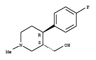 (3S,4R)-4-(4-Fluorophenyl)-3-hydroxymethyl-1-methy