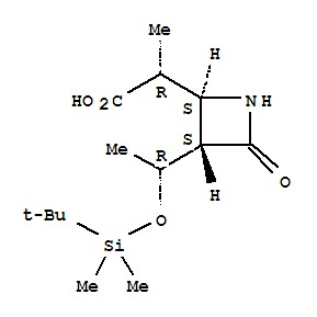 (3S,4S)-3-((R)-(tert-Butyldimethyl-silyloxy)ethyl)
