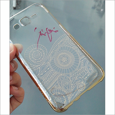 Laser Marking Sample In Mobile Cover
