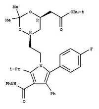 (4R,6R)-6-[2-[2-(4-fluorophenyl)-5-(1-methylethyl)