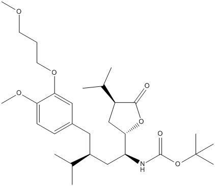 (4S)-3-[(2S,4S)-4-Azido-2-(1-methylethyl)-1-oxo-4-