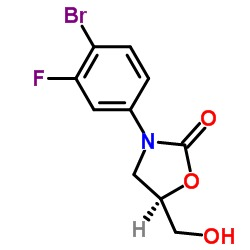 (5R)-3-(4-Bromo-3-fluorophenyl)-5-hydroxymethyloxa