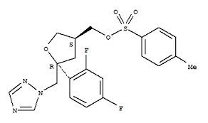 (5R-cis)-Toluene-4-sulfonic acid 5-(2,4-difluoroph