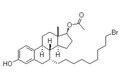 (7a,17b)-7-(9-Bromononyl)-estra-1,3,5(10)-triene-3