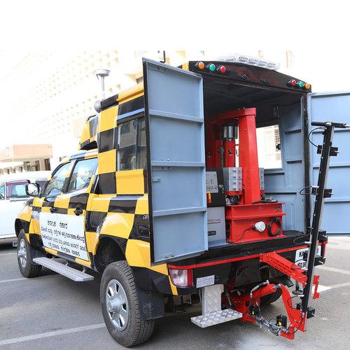 Pavetesting Vehicle Mounted Falling Weight Deflect