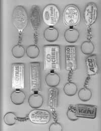 Metal Nikil Key Chains
