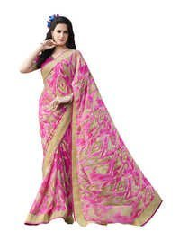 Designer Printed Georgette Saree