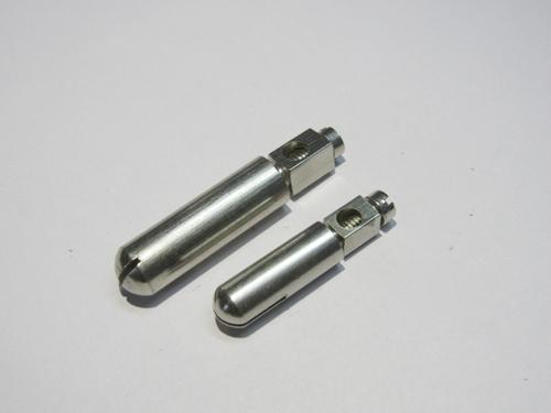 Brass Solid 2 Plug Pins