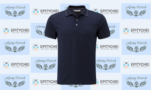 Polo Tshirt - Blue