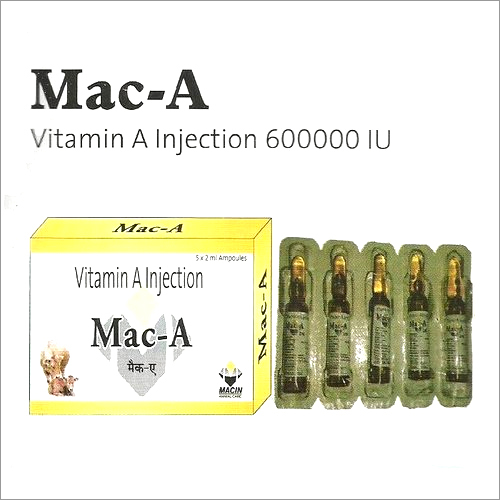 Vitamin A Injection 600000 IU