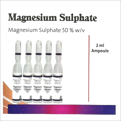 Magnesium Sulphate Injections