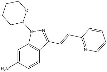 3-[2-(Pyridin-2-yl)ethenyl]-1-(tetrahydro-2H-pyran
