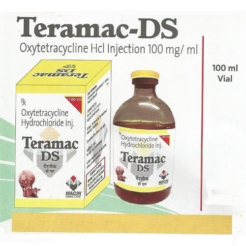 Oxytetracycline Hcl Injection 100 mg/ml
