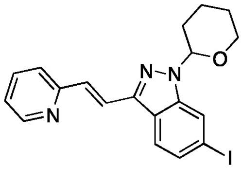 (E)-6-Iodo-3-[2-(pyridin-2-yl)ethenyl]-1-(tetrahyd