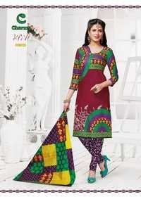 Cotton Printed Suits Materials