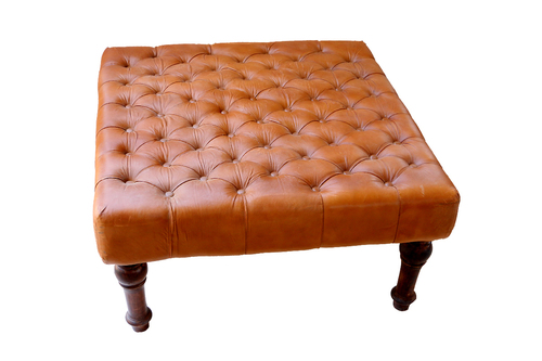 Leather Centre Table