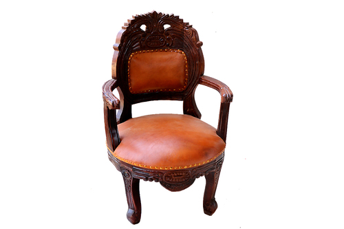Leather samll Chair
