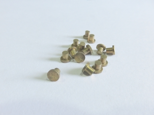 Precision Brass Rivets