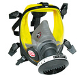 SAFETY FACE GUARD WITH Black CANISTER