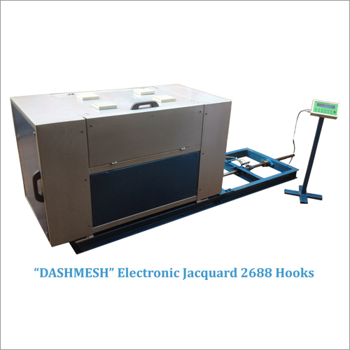 2688 Hooks Electronic Jacquard For Rapier Loom