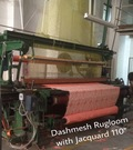 RUG LOOM WITH JACQUARD
